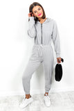One Shot - Jumpsuit In GREY