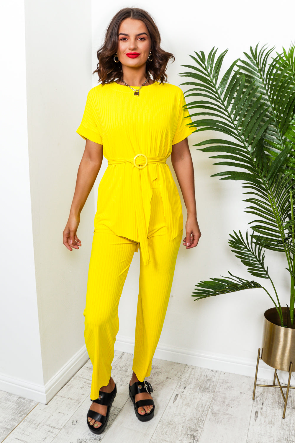 Set Me Up - Co-ord In YELLOW