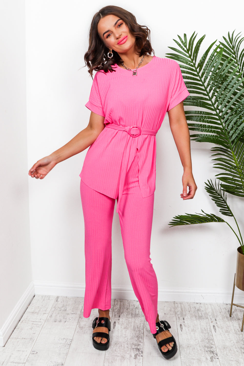Set Me Up - Co-ord In PINK