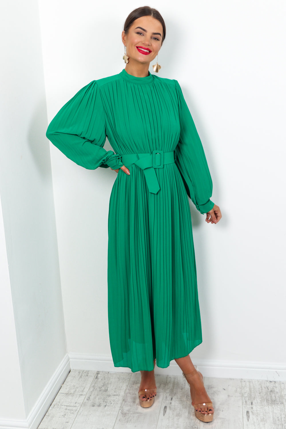 On The Guestlist - Dress In GREEN