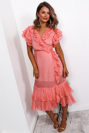Baby Doll - Midi Dress In PINK
