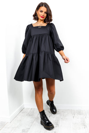 No More Tiers - Dress In BLACK