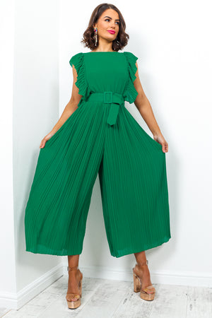 Bombshell - Jumpsuit In GREEN