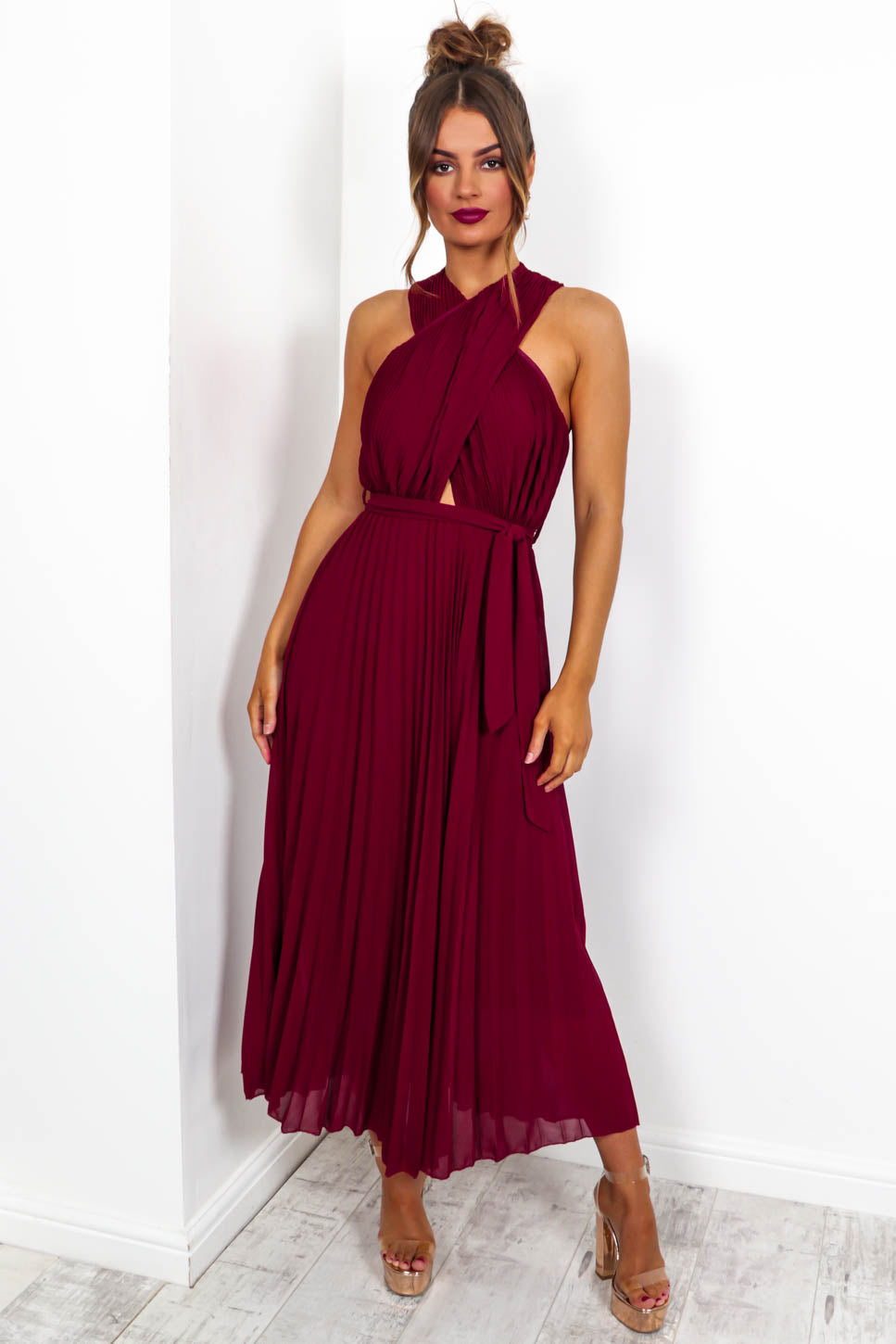 Artemis - Maxi Dress In WINE