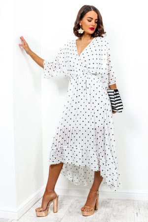 Dolce Vita - Dress In WHITE/SPOT