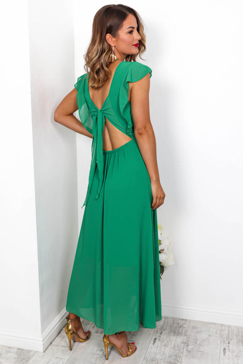 Sugar Plum - Maxi Dress In GREEN