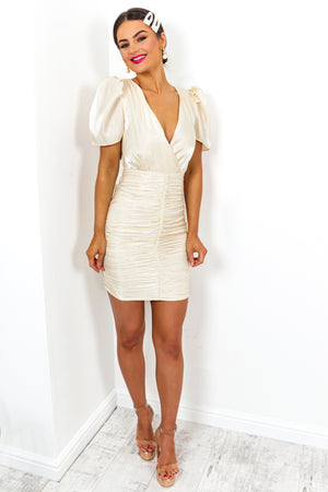 Sweet Like Honey - Dress In IVORY