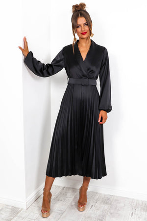 Norma Jean - Maxi Dress In BLACK
