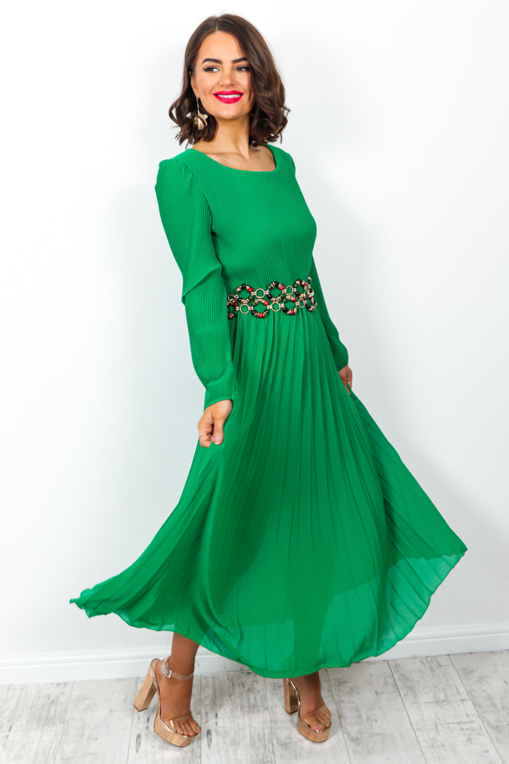 Irresistible - Dress In GREEN