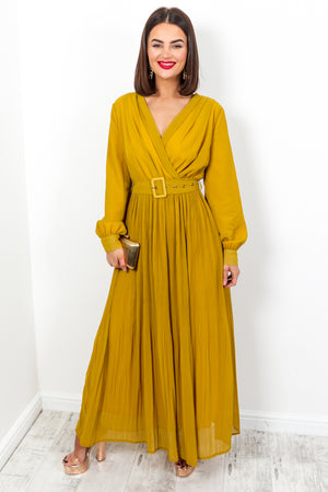 Long Way Down - Dress In MUSTARD