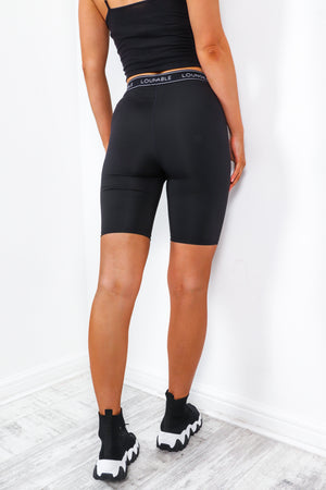 Loungeable - Black Cycle Shorts
