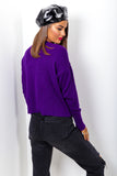 Love Pillows - Purple Multi Heart Knitted Jumper