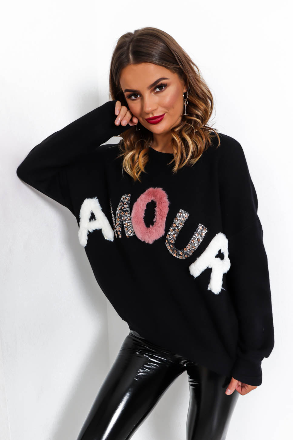 Love Affair - Jumper In BLACK