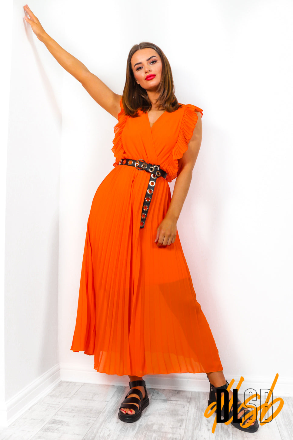 Mamma Mia - Orange Maxi Dress