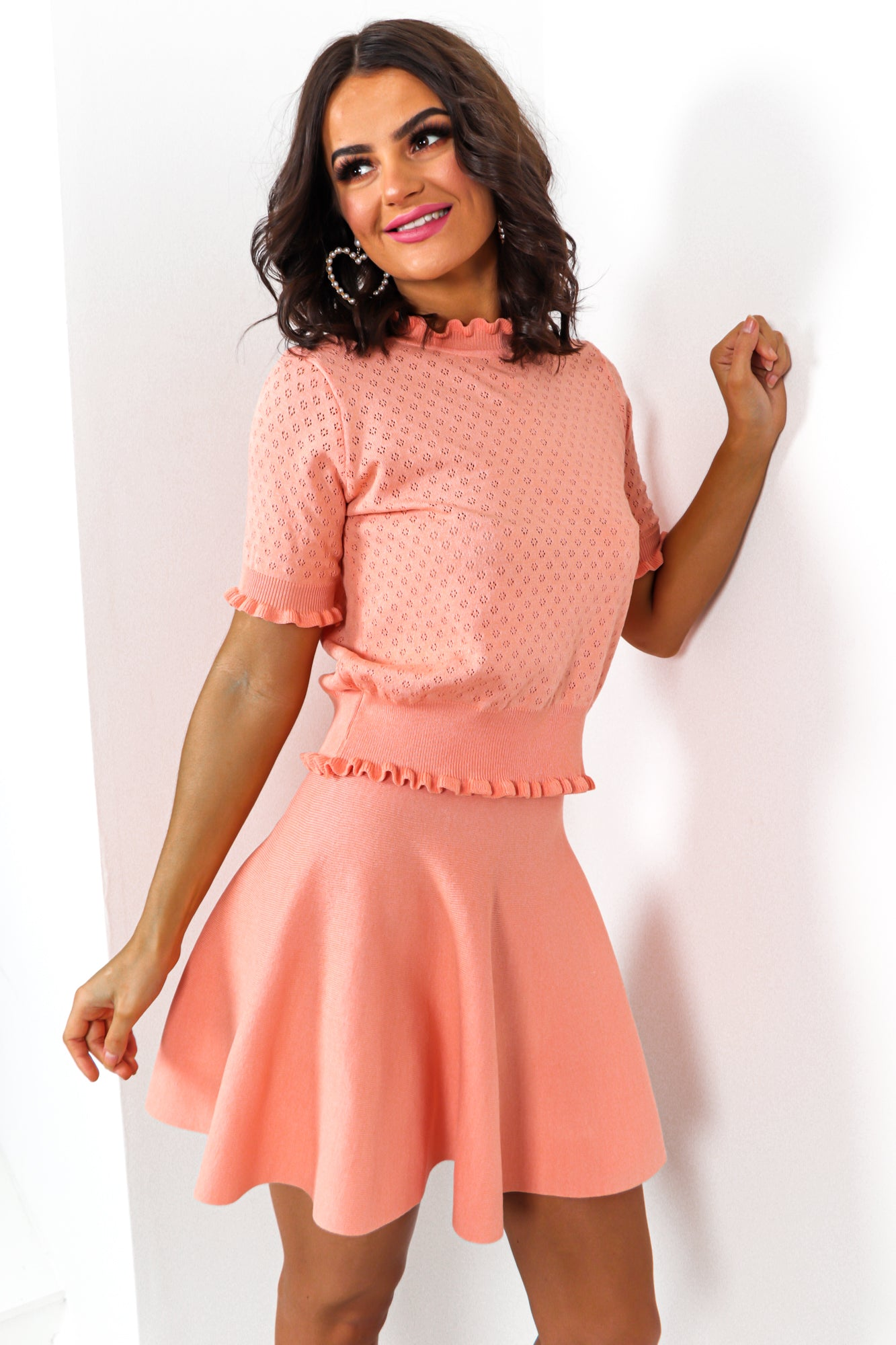 Oh Sandy - Co-ord In PEACH
