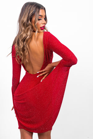 Surprise Me - Mini Dress In RED