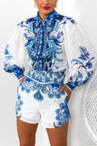 Porcelain Doll - Co-ord In BLUE