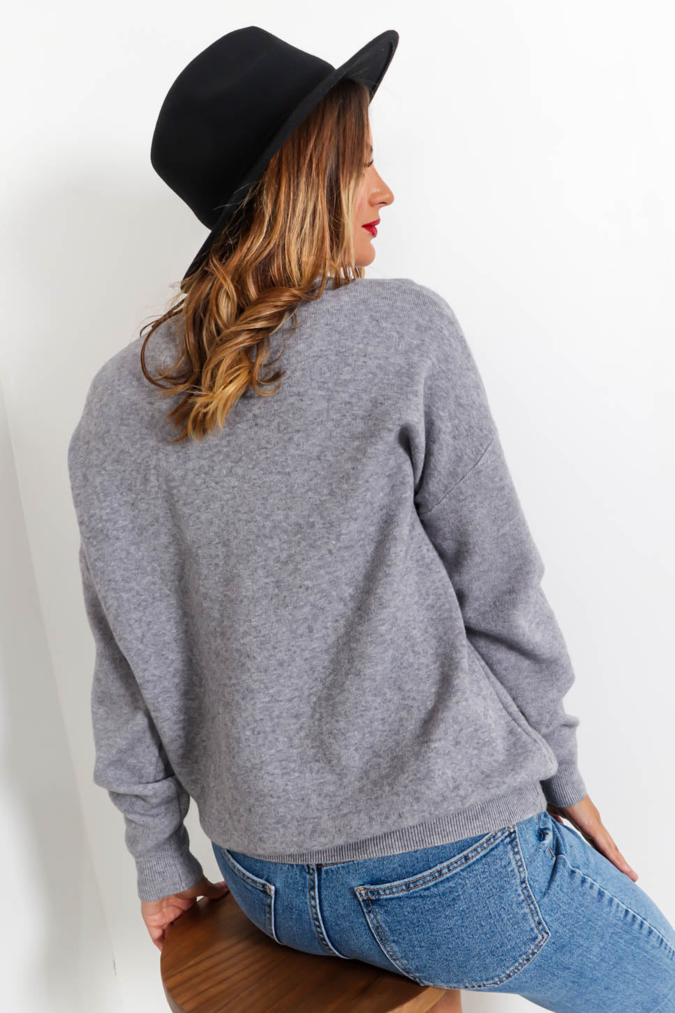 Princess - Jumper In GREY