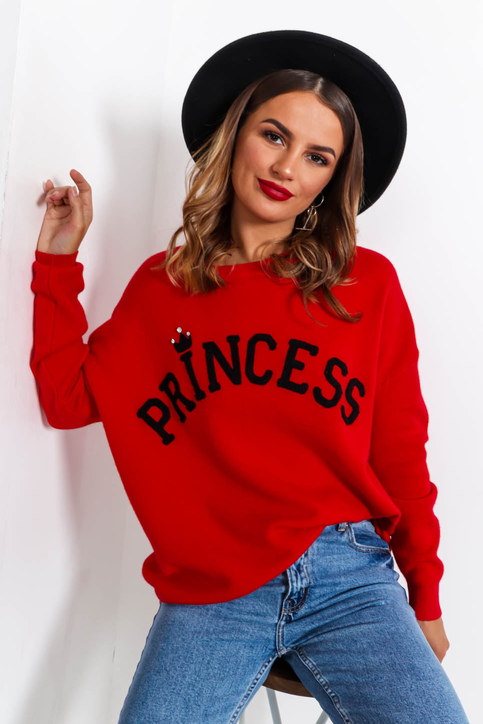 Princess - Jumper In RED