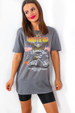 Route 66 - Grey Slogan T-shirt