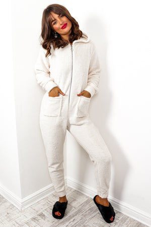 Sleepover - Cream Teddy Onesie