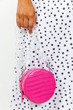 Snake Me Out - Bag In PINK