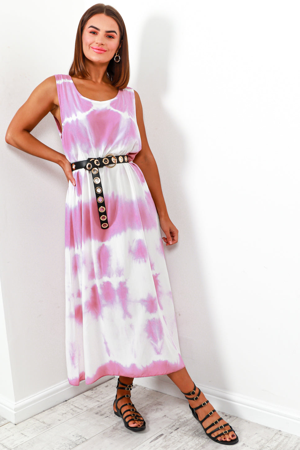 Sun's Out - Dress In LILAC/TIE-DYE