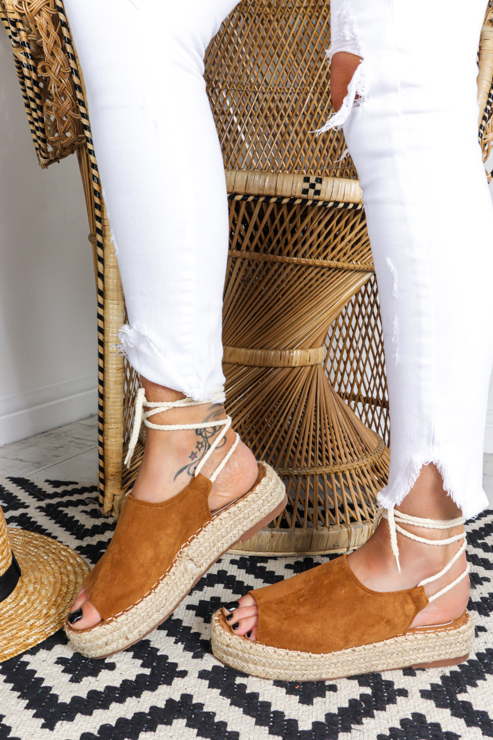 Sunny Afternoon - Espadrille In CAMEL