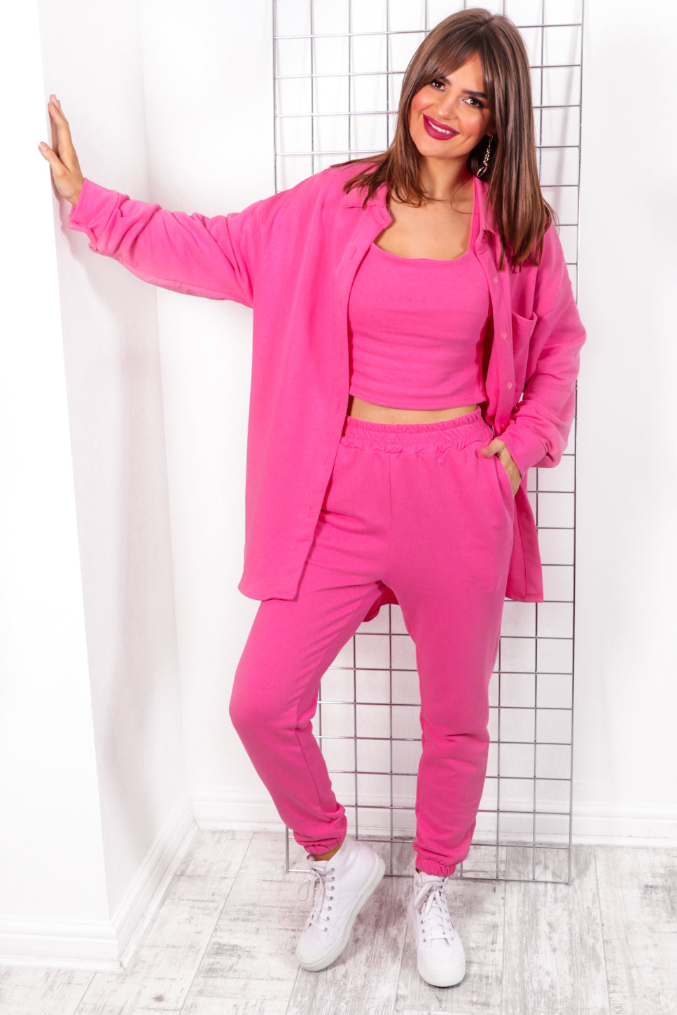 That's My Vibe - Pink Three Piece Set