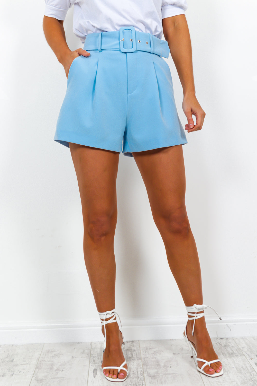 The Boss - Shorts In LIGHT BLUE