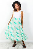Let's Make Waves - Dress In GREEN