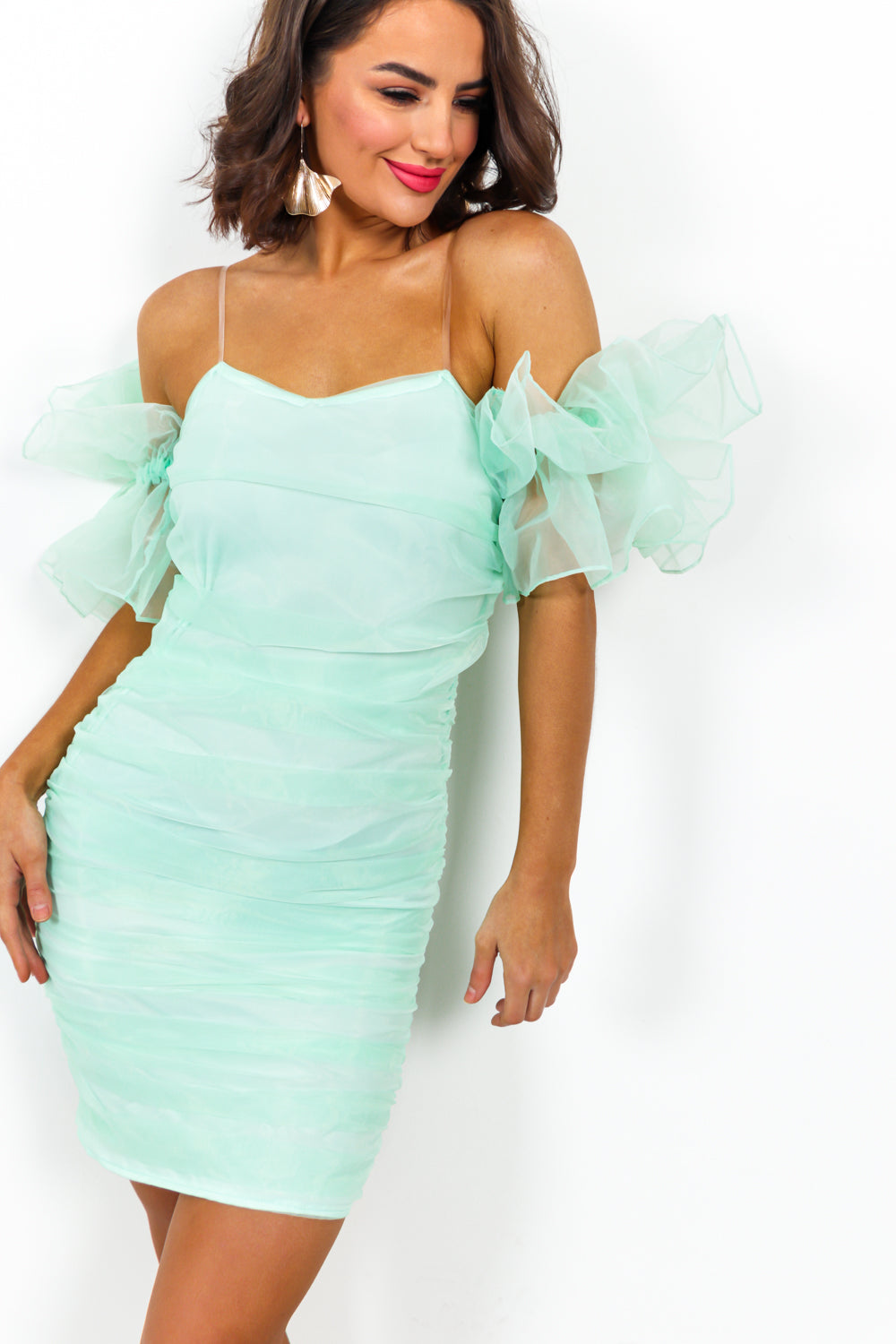 True Romance - Dress In MINT