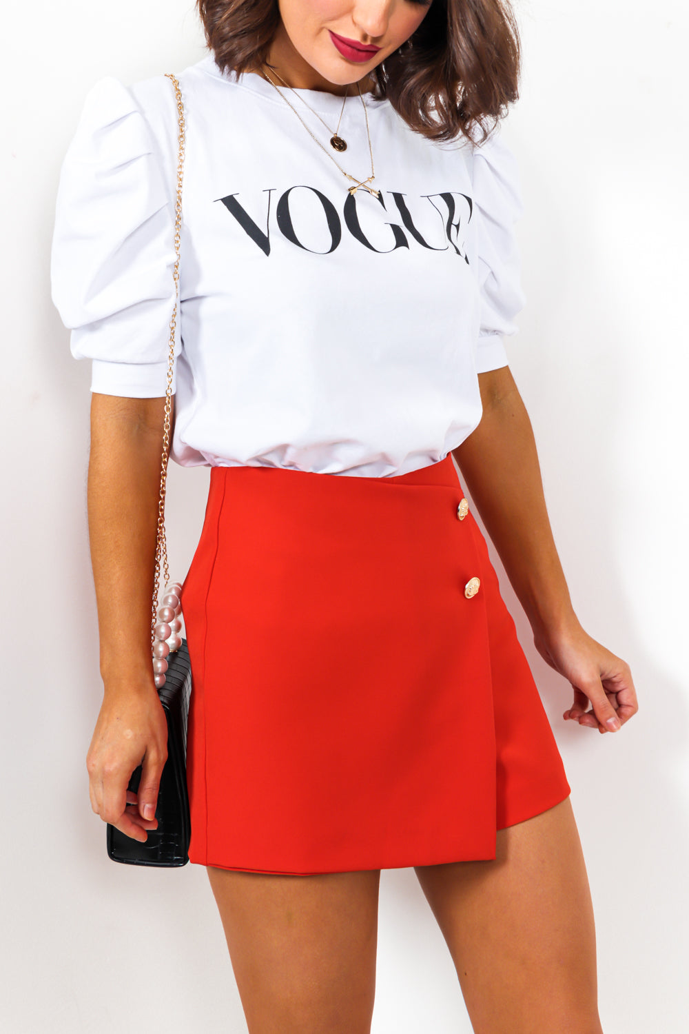 So Vogue - Top In WHITE