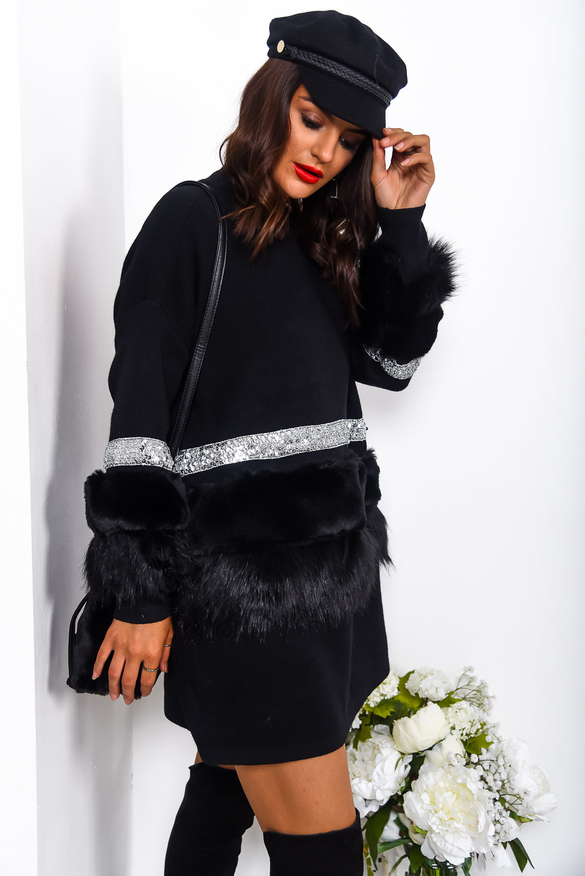 Fluff And Ready - Jumper In BLACK