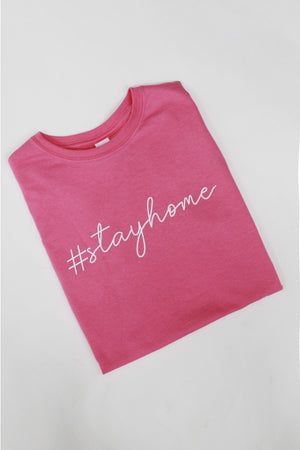 Home Sweet Home - T-shirt In PINK