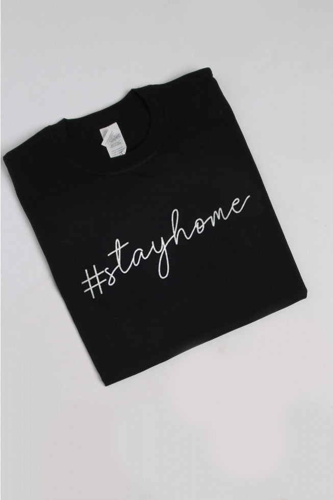 Home Sweet Home - T-shirt In BLACK