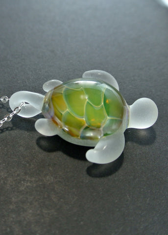 Sea Glass Turtle 015