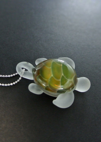 Sea Glass Turtle 017