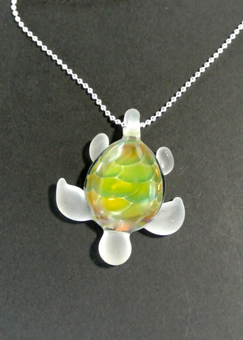 Sea Glass Turtle 020