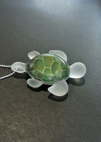 Sea Glass Turtle 021