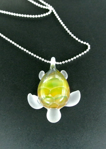 Sea Glass Turtle 023
