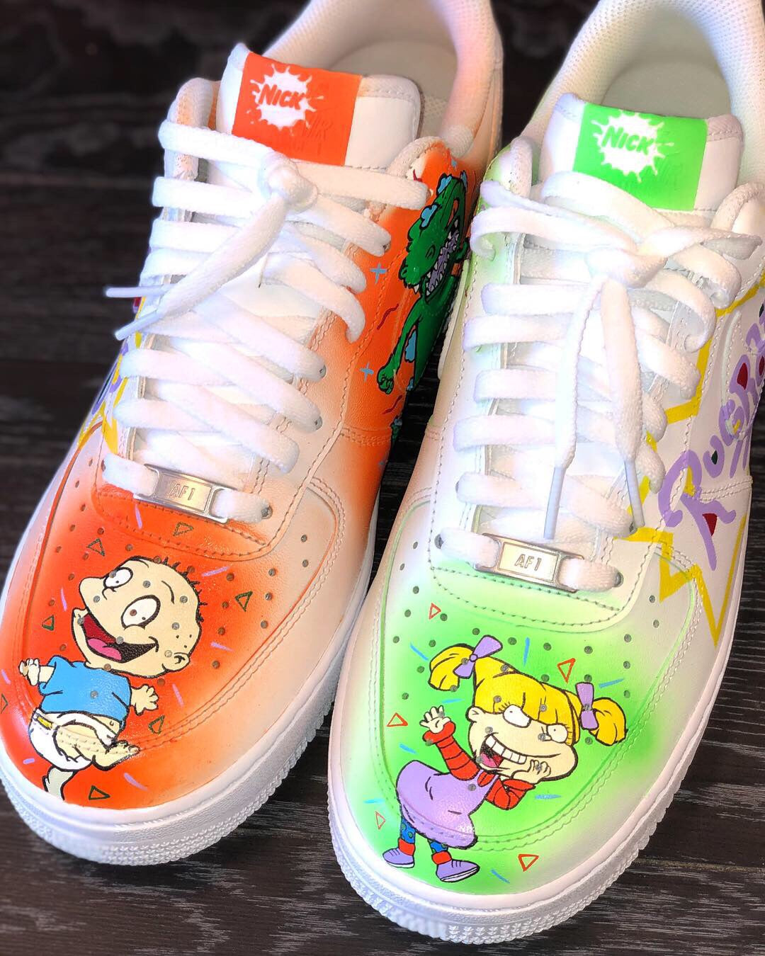 Custom Air Force 1 S Low Zaeway Customs