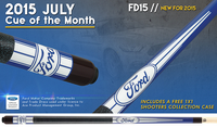 InsidePool.TV Engraved Cue Ford