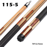 Universal UN115 11.75/12.75mm Billiard Pool Cue Stick Kamui Tip Technology Billar Kit with Protective Tip Cover Free Shipping