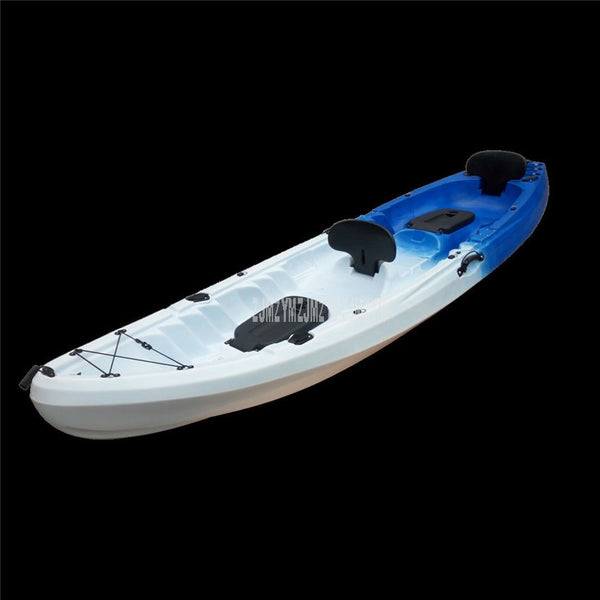 3.7m Length 3-Person Professional Long Distance Ocean Boat Canoe kayak Fishing Boat Hard Plastic Drifting Surfing Boat 37000