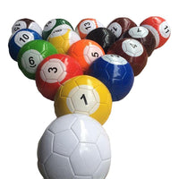 Creative Billiard Style Game Playing Football Soccer Children Adults Family Fun Entertainment Balls Size #2/#3/#4/#5 Available