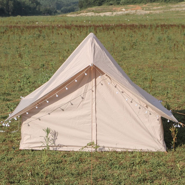 Outdoor Luxury Tent Nordic Vintage Cotton White Bear Cabin Small Room Light Luxury Cotton Double Technology Cotton-Cloth Tents