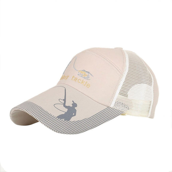 Summer Golf Baseball Mesh Cap Adjustable Sports Sun Visor Hat Unisex fishing Cap