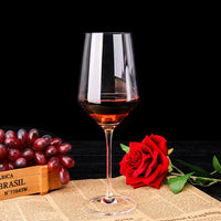 2pcs Crystal Glass Wine Goblet Wedding Wine Glasses Cups Shot Birthday Christmas Gift Set