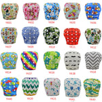 10Pcs/Lot Baby Swim Diapers Adjustable Cloth Diapers Cover Pool Pants Waterproof & Breathable Diaper Nappy Changing Unisex